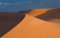 珊瑚沙丘桃红色沙子 库存照片