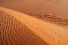 珊瑚沙丘粉红色沙子犹他 免版税库存照片