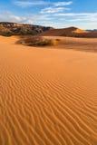 珊瑚沙丘kanab公园粉红色沙子状态美国犹他 库存图片