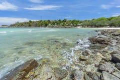 珊瑚海湾手段 免版税库存照片