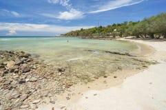 珊瑚海湾 库存照片
