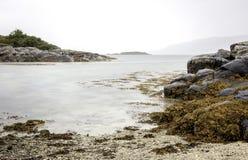 珊瑚海滩,苏格兰 免版税库存图片