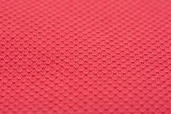 珊瑚红色美好的棉纺织品 免版税库存照片