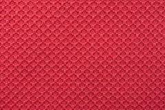 珊瑚红色美好的棉纺织品 免版税库存图片