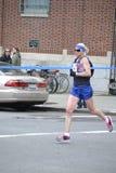 珍妮法德尔精华赛跑者NYC马拉松 免版税图库摄影