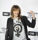 珍妮罗森塔尔在首场演出到达第17次Tribeca电影节 免版税图库摄影