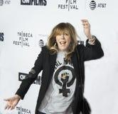 珍妮罗森塔尔在首场演出到达第17次Tribeca电影节 免版税库存照片