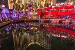 珍宝海岛旅馆和赌博娱乐场,拉斯维加斯 免版税库存图片