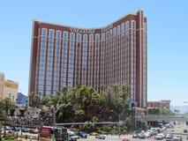 珍宝海岛赌场酒店正面图 库存照片