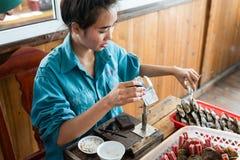 珍珠农场 免版税图库摄影