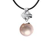 珍珠垂饰 免版税库存图片