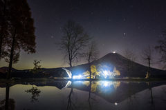 珍珠富士 图库摄影