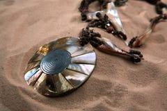 珍珠层,珍珠,装饰品 免版税图库摄影