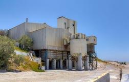 珍珠岩处理设施 库存图片