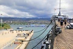 珍珠港,夏威夷 图库摄影