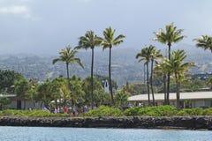 珍珠港,檀香山,夏威夷 免版税图库摄影