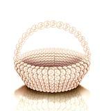 珍珠篮子 免版税库存照片