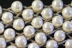 珍珠纹理 免版税图库摄影