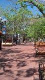 珍珠街道购物中心巨石城 免版税图库摄影