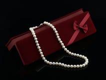 珍珠项链 免版税图库摄影