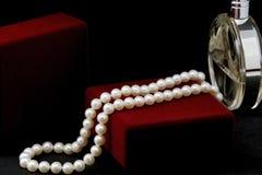 珍珠项链 免版税库存照片