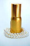 珍珠香水 免版税库存照片