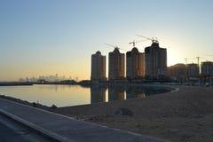 珍珠,卡塔尔 免版税图库摄影
