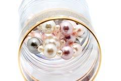 珍贵珍珠 免版税库存照片