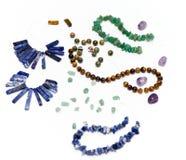 珠宝做 免版税库存图片