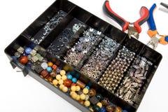 珠宝做 免版税库存照片