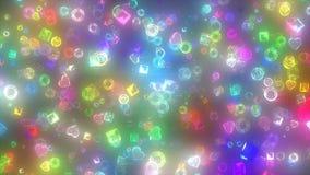珠宝微粒 免版税库存图片