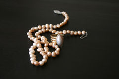 珠宝珍珠 免版税库存照片