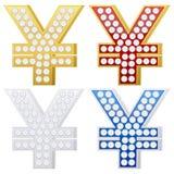 珠宝符号日元 库存图片