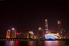 珠江新市镇 库存图片