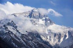 珠穆朗玛峰和flannelette寺庙 免版税库存照片