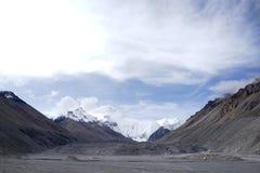 珠穆朗玛峰 免版税库存照片