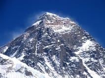 珠穆琅玛峰顶 免版税图库摄影