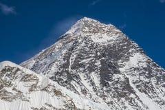 珠穆琅玛的看法从Kala Patthar的 库存照片