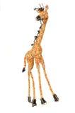 珠饰细工长颈鹿电汇 免版税库存图片