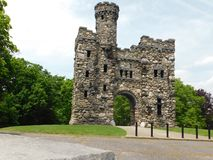 班克罗夫特城堡 免版税图库摄影