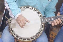 班卓琵琶是它串的仪器是乐器 库存图片