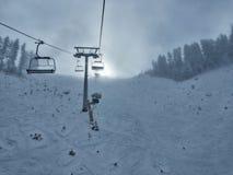 班斯科滑雪胜地 免版税库存照片