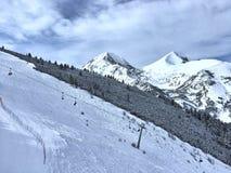 班斯科滑雪胜地 免版税库存图片