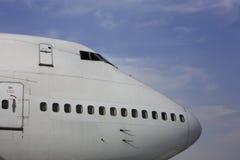 班机乘客 免版税库存照片