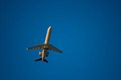 班机喷气机 库存图片