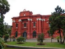班格洛,卡纳塔克邦,印度- 2009年9月8日政府博物馆大厦 库存图片