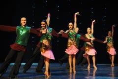 班格洛拉丁舞蹈印度记忆这奥地利的世界舞蹈 免版税库存照片