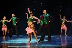 班格洛拉丁舞蹈印度记忆这奥地利的世界舞蹈 库存图片