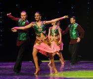 班格洛拉丁舞蹈印度记忆这奥地利的世界舞蹈 免版税图库摄影