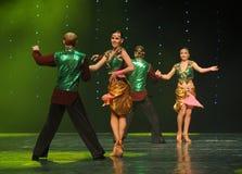 班格洛拉丁舞蹈印度记忆这奥地利的世界舞蹈 免版税库存图片